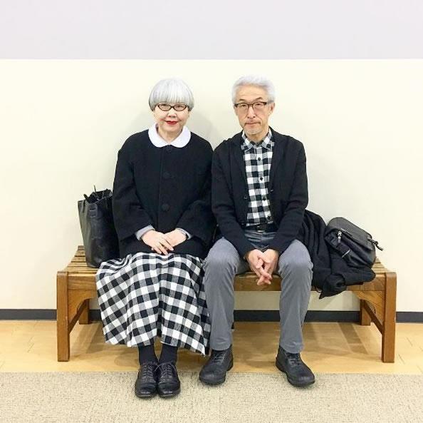 60岁老夫妻教你如何优雅搭配情侣装