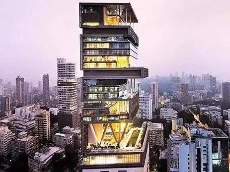 印度首富住的豪宅长啥样?中国首富弱爆了
