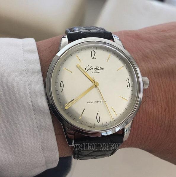格拉苏蒂20世纪复古系列腕表,不可多得一款正装表