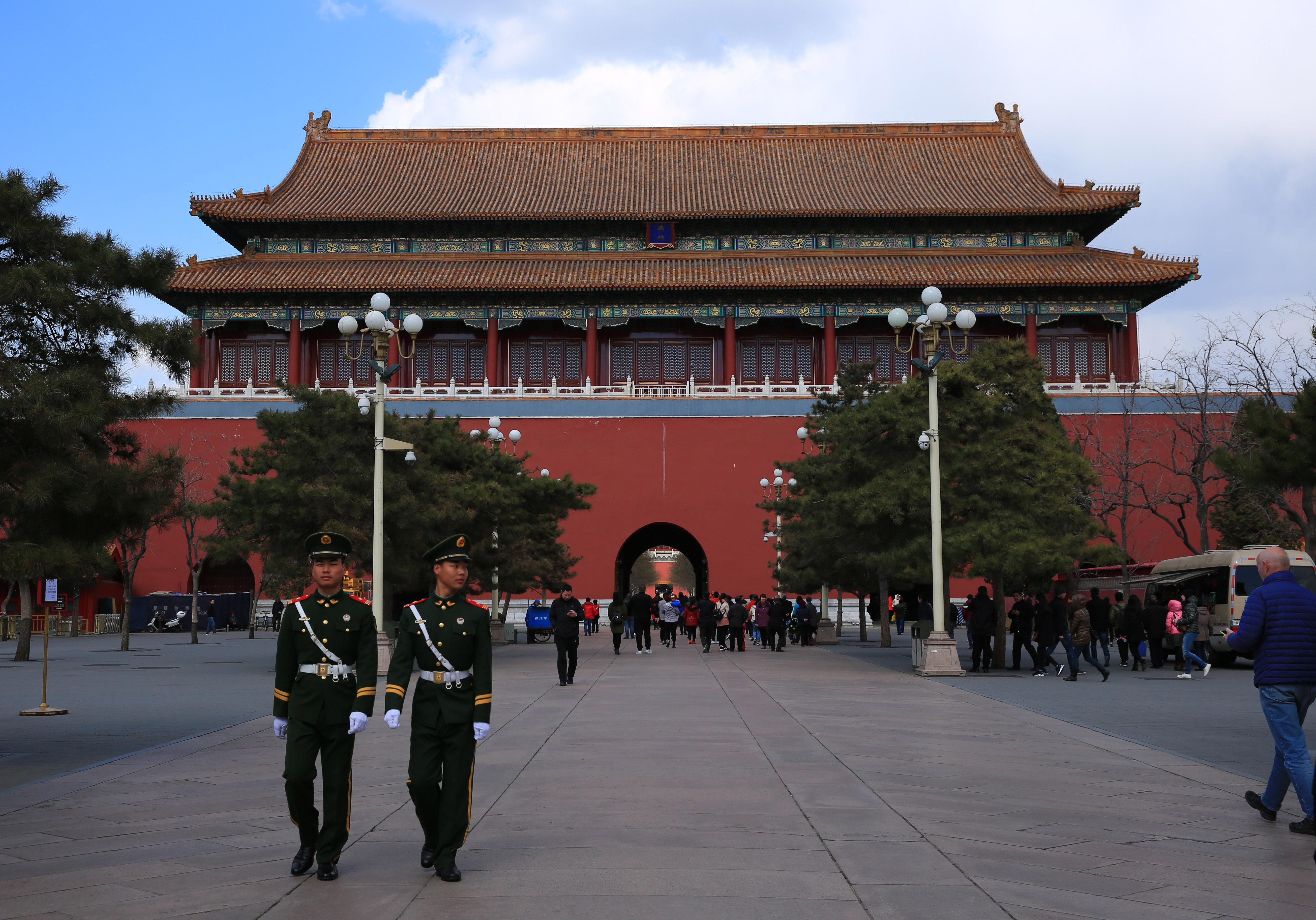 从南到北逐一欣赏故宫中轴线上金碧辉煌的建筑