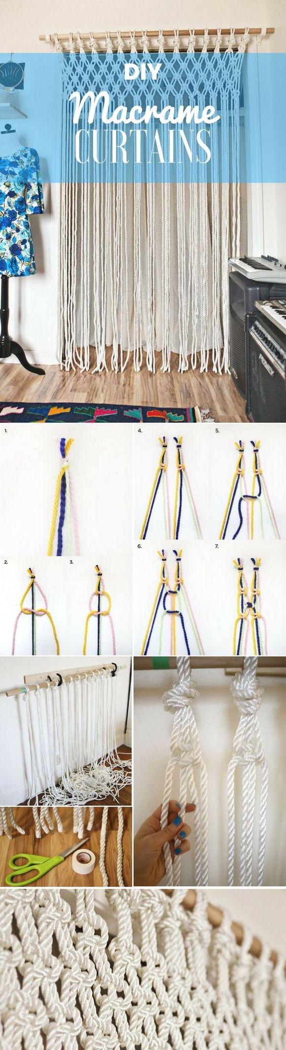 如何用一根绳子编织成各种实用的家居用品