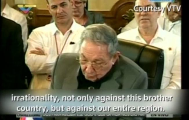 """""""自我而荒谬"""":古巴领导人怒斥特朗普搞孤立主义"""