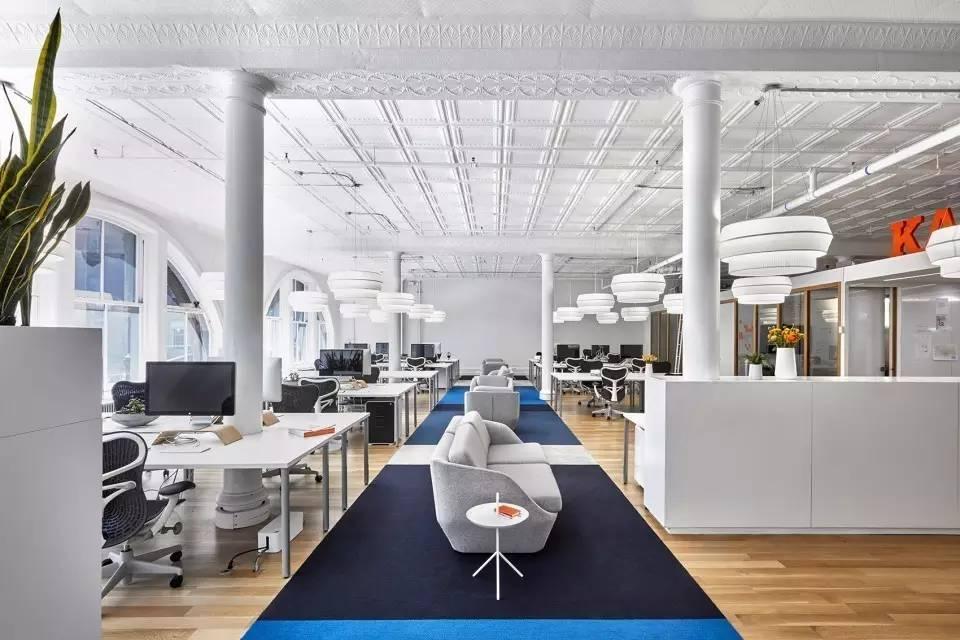 欧式办公室设计布局