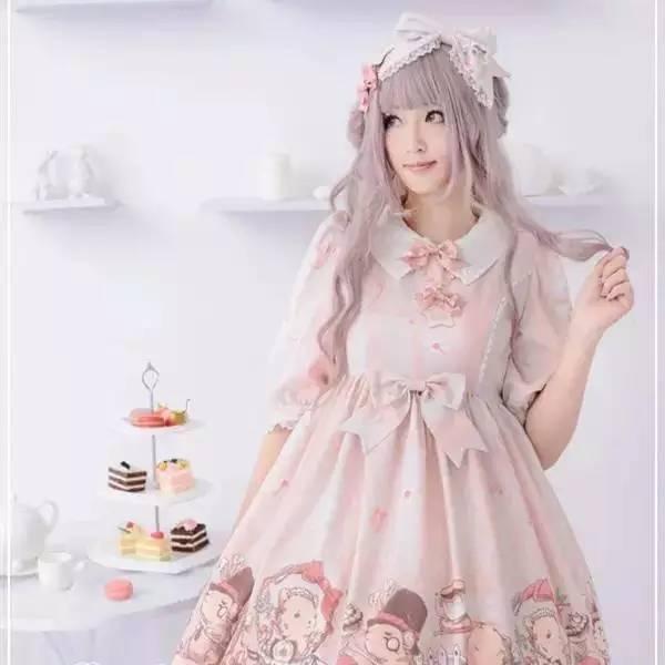 【美腻の裙子】春天里的洛丽塔图片