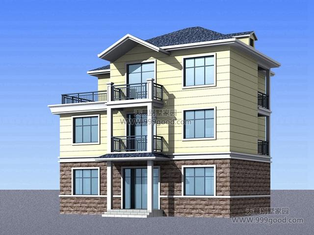 6x10.8米别墅设计图,可出租的户型!图片