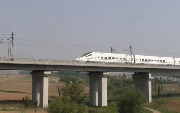 中国第一条高铁图片 21245 587x368