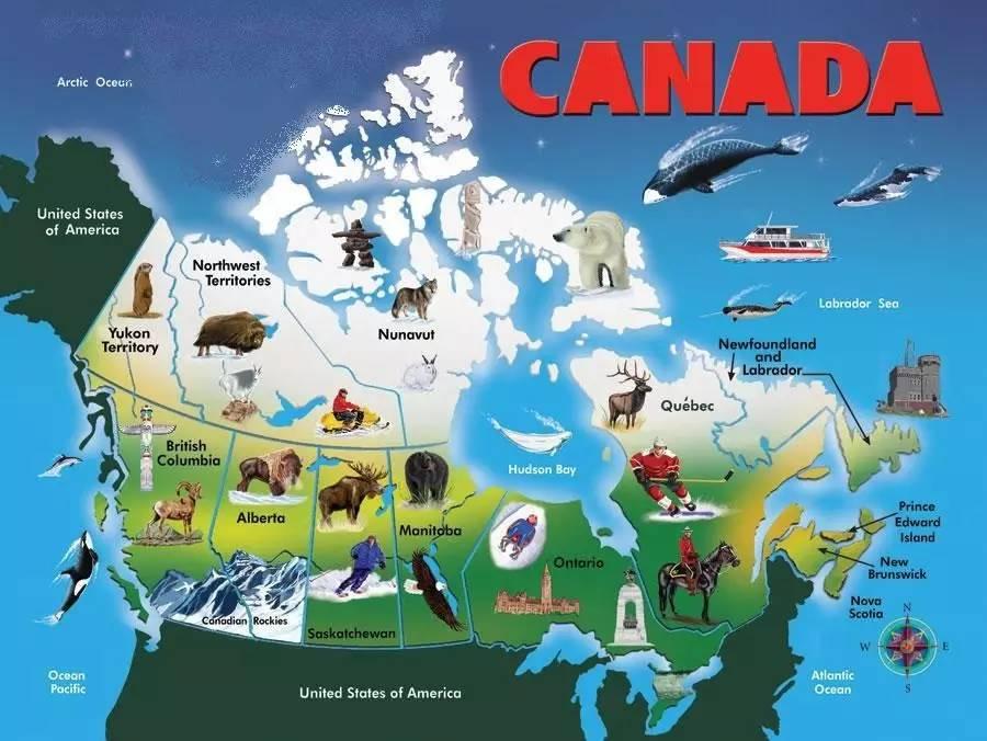 加拿大经济总量排名第几_加拿大各省排名