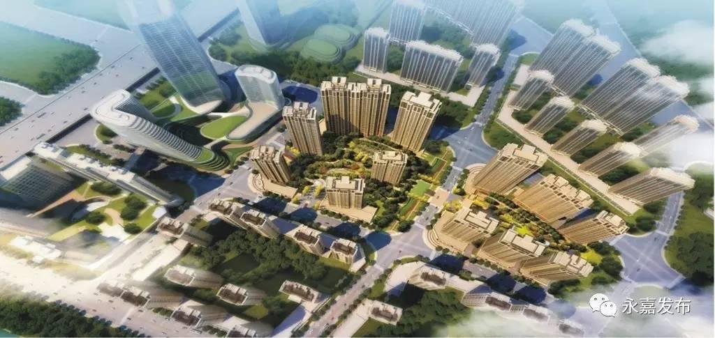 永嘉三江商务区规划图