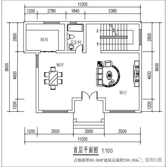 自建12x9米农村3层别墅,这房子真能30万盖起来?图片