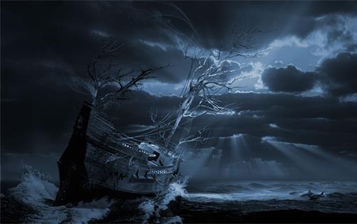 幽灵船之谜