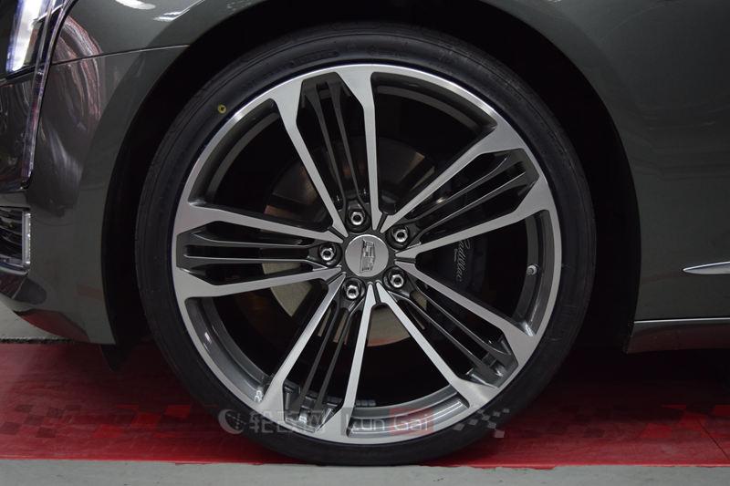 凯迪拉克CT6改装21寸ZC锻造轮毂