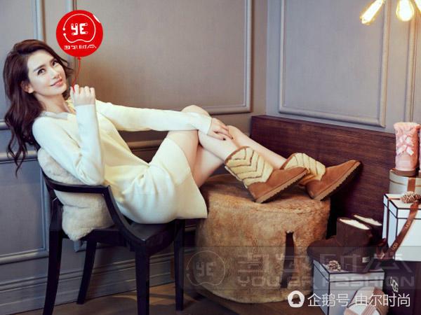 由尔时尚戚薇越活越减龄百变的女生很迷人