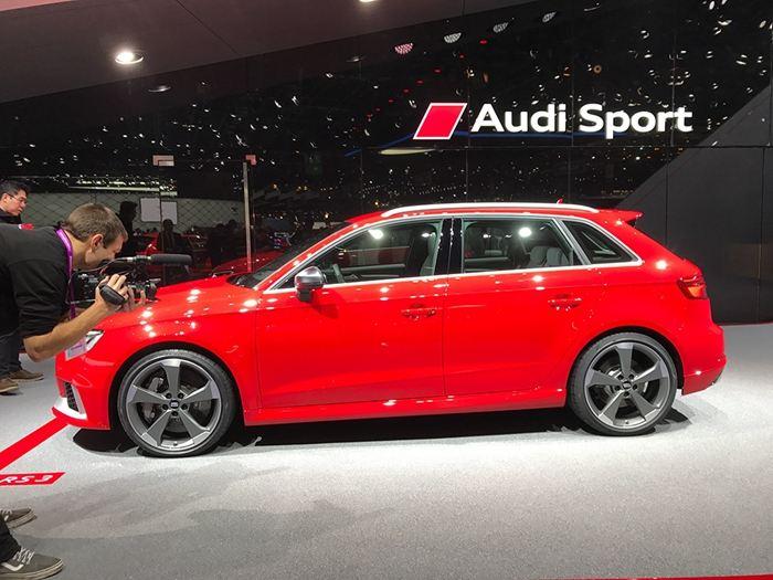新奥迪RS3亮相日内瓦车展有望引入国内