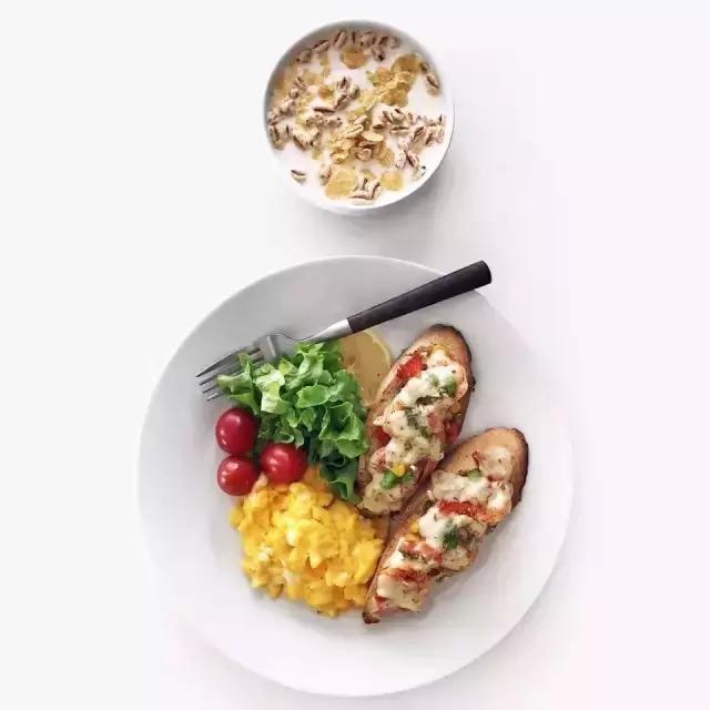 变化不吃肉?1600千卡的荤素食谱推荐运动?节食体重无减肥图片