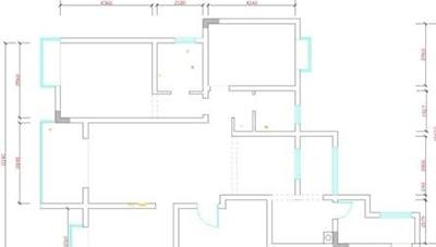 cad室内设计教程:cad室内设计平面图怎么画?