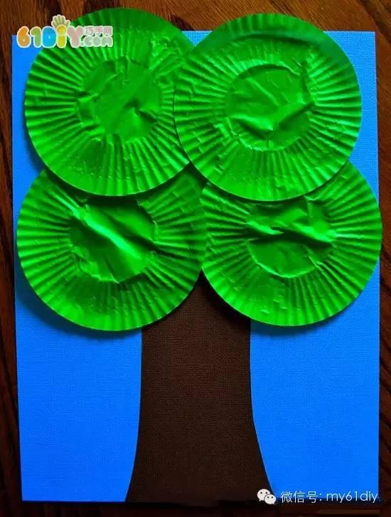 幼儿园树贴画