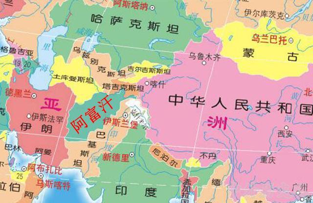 亚洲美囌͜_亚洲最墙头倒的国家,曾跟美俄都交好,如今成世仇