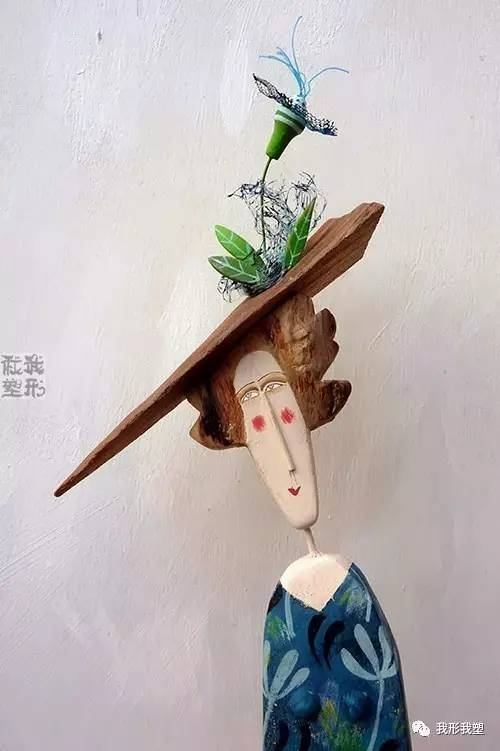 一堆烂木头,做成工艺品,好像有了性格和灵魂图片