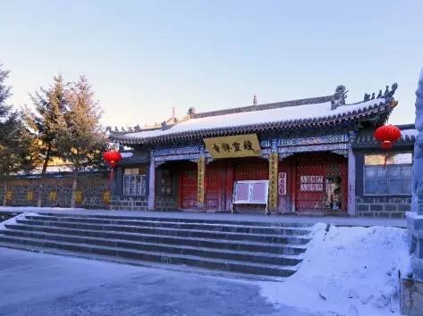 """建在火山上的寺庙~五大连池钟灵禅寺"""""""