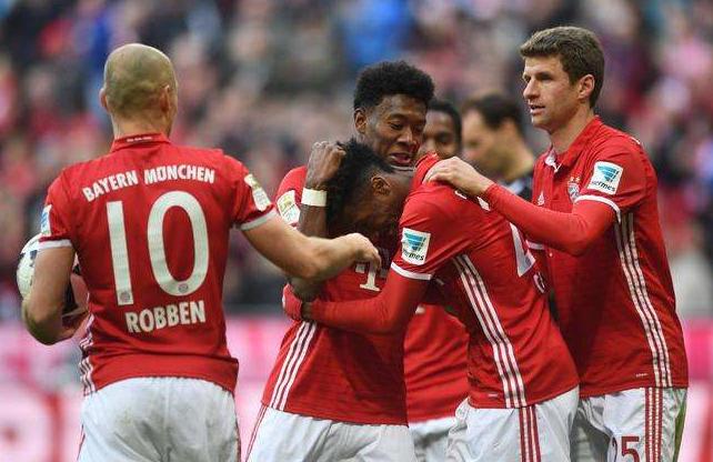 德甲直播:拜仁慕尼黑vs法兰克福视频直播预告