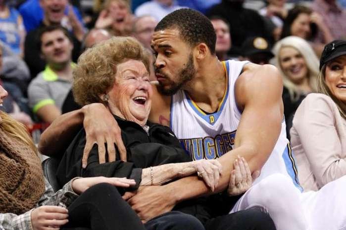NBA球星们秀恩爱, 最后一张亮瞎我的狗眼