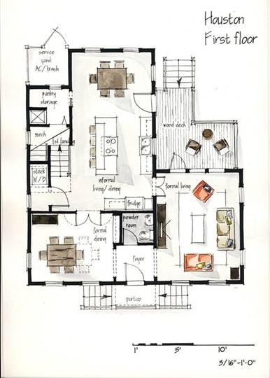 cad平面图-如果你很想知道,那些高大上的室内设计案例图都怎么做的