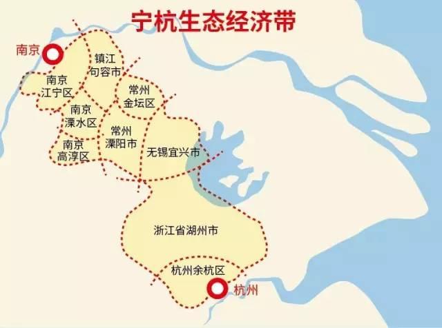 南京跟浙江地图