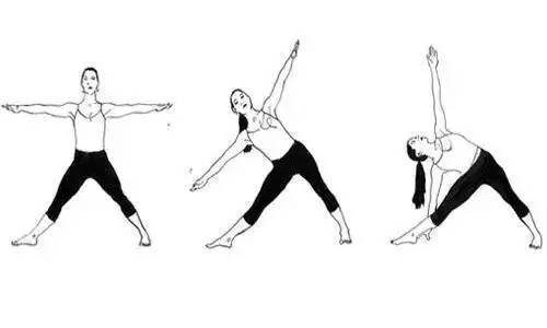 瑜伽美胸体式练习,爱美的不能错过!图片