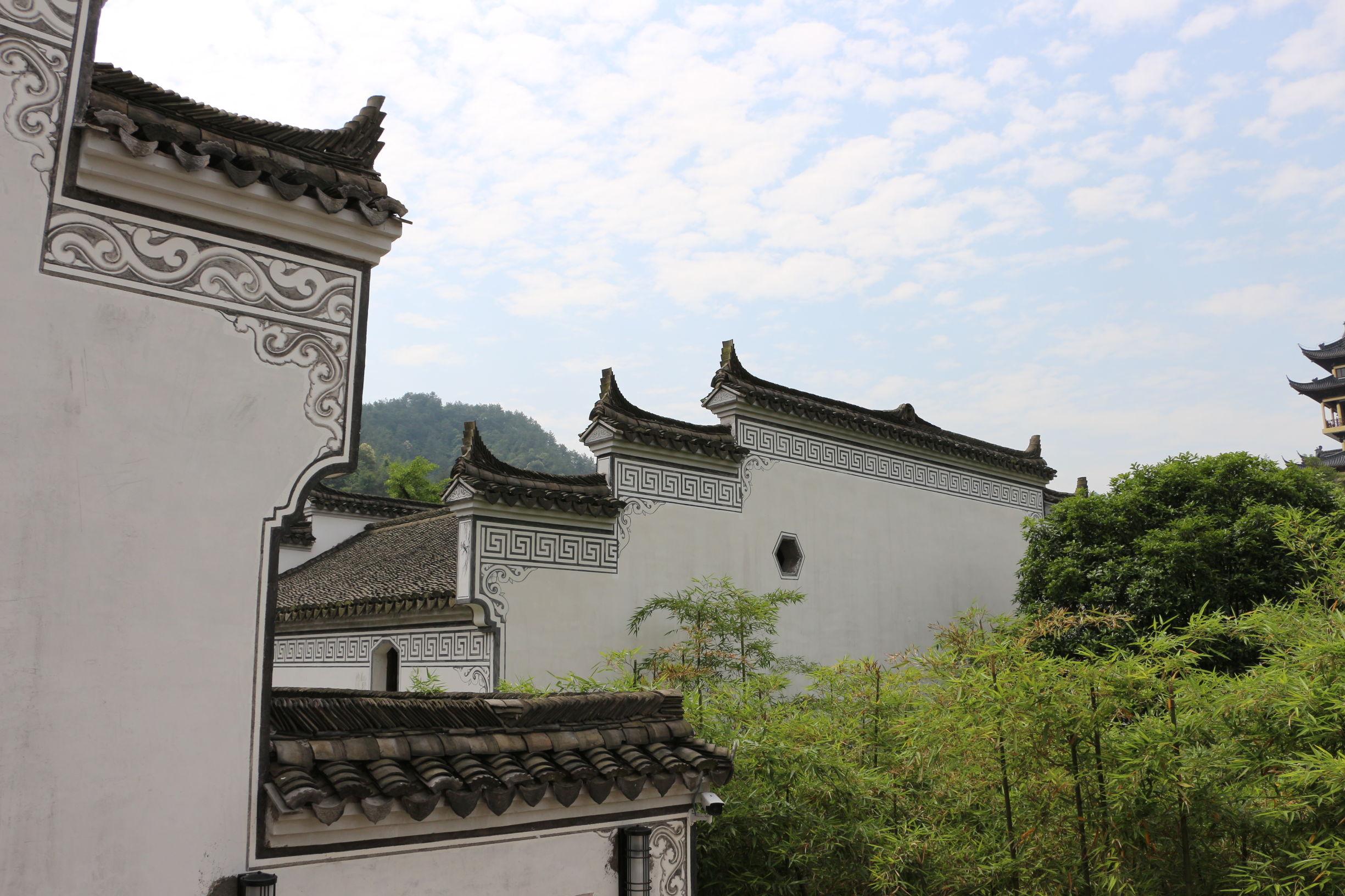 璟园古民居博物馆的民居古建筑,堪称建筑艺术的杰作,在江南古代传统