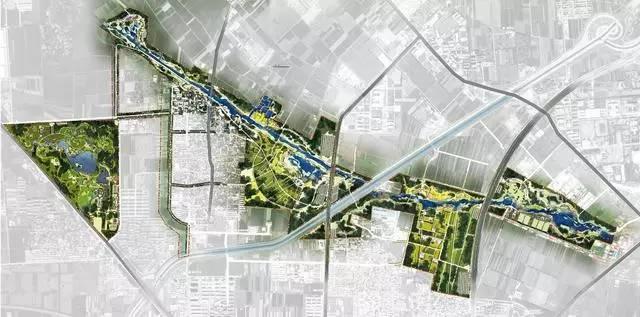 带状郊野公园平面图