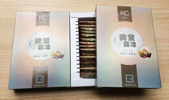 KC酵素果冻全球首创配方荣耀问
