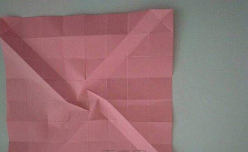 折纸收纳盒之玫瑰折纸盒子图解教程