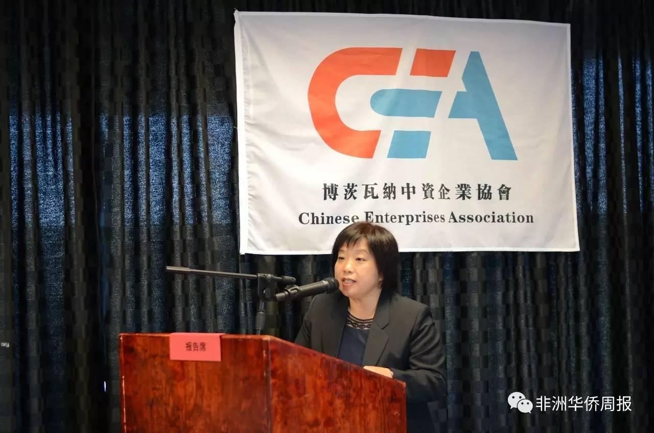 中国驻博茨瓦纳大使馆经济商务处李智参赞图片