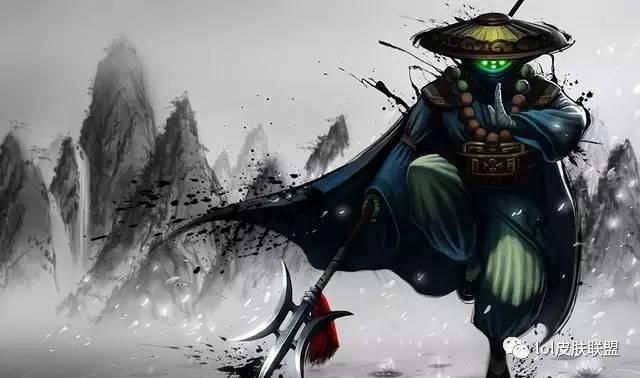 中国风才是最美的,英雄联盟中24款中国风皮肤你有几款?