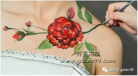 自情自拍人体艺术_人体彩绘的流动艺术,谷兰倾情分享