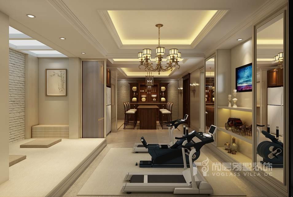 杭州别墅案例室内设计-传承中式风格v别墅专业婚介所室内装修设计图片