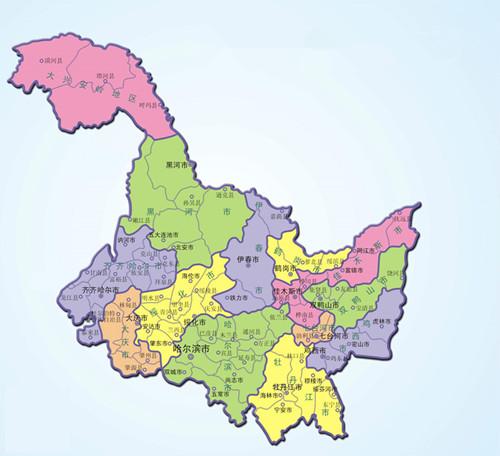 的简称、位置和行政中心;说出相邻的省级行政单位的名称和简称.