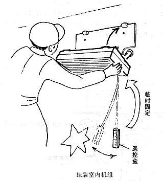 创意空调管子手绘
