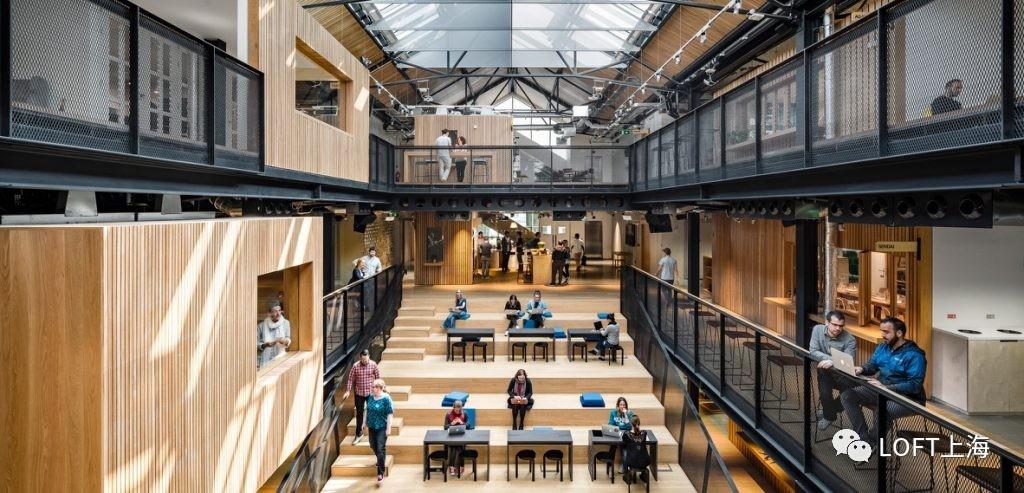 都柏林airbnb loft风格国际总部办公室图片