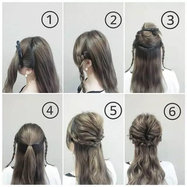 今天小编就一口气教大家几款简单又好看的扎发发型,保证你你学就会,一图片