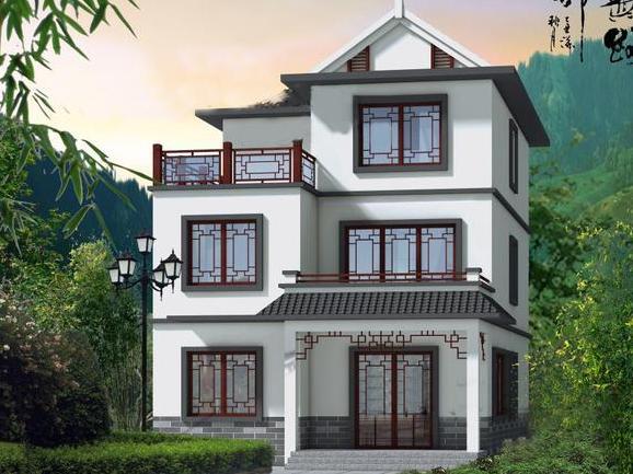 幸福指数也越来越低,什么时候冲动一下回农村建一栋轻钢别墅吧!图片