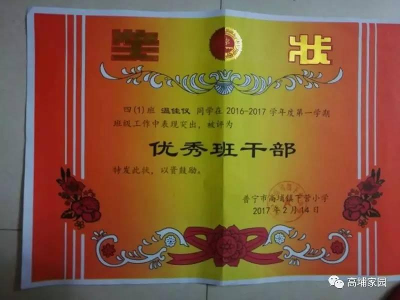 高埔镇下营小学温佳仪同学评选 最美南粤少年 为普宁山区农村客家小女孩投一票