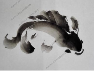 国画鱼的画法及步骤图