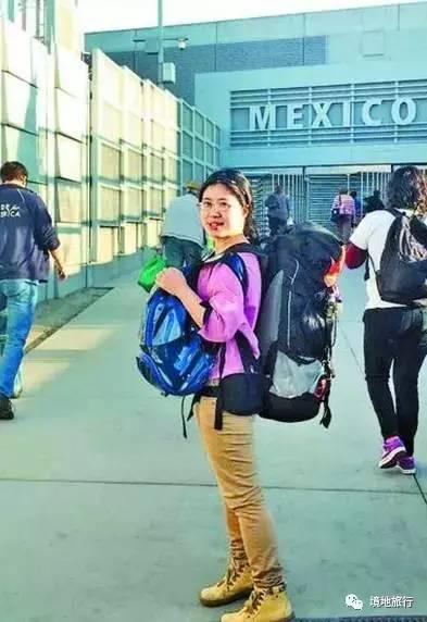 从美国到南极,中国女孩
