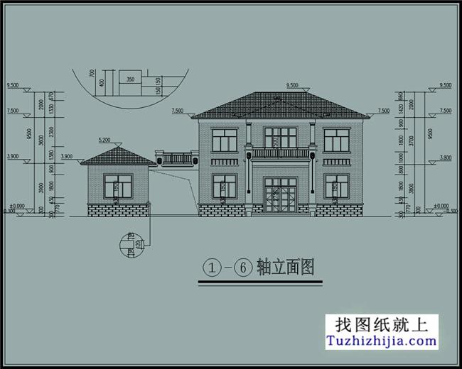 5米    建筑结构:砖混结构                      搜索:http://tuzhi