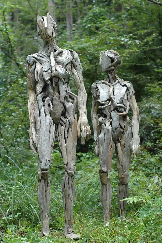 日本露穴大但人体艺术_这正是日本艺术家nagato iwasaki 的作品, 这些人体雕像总能成功地吓