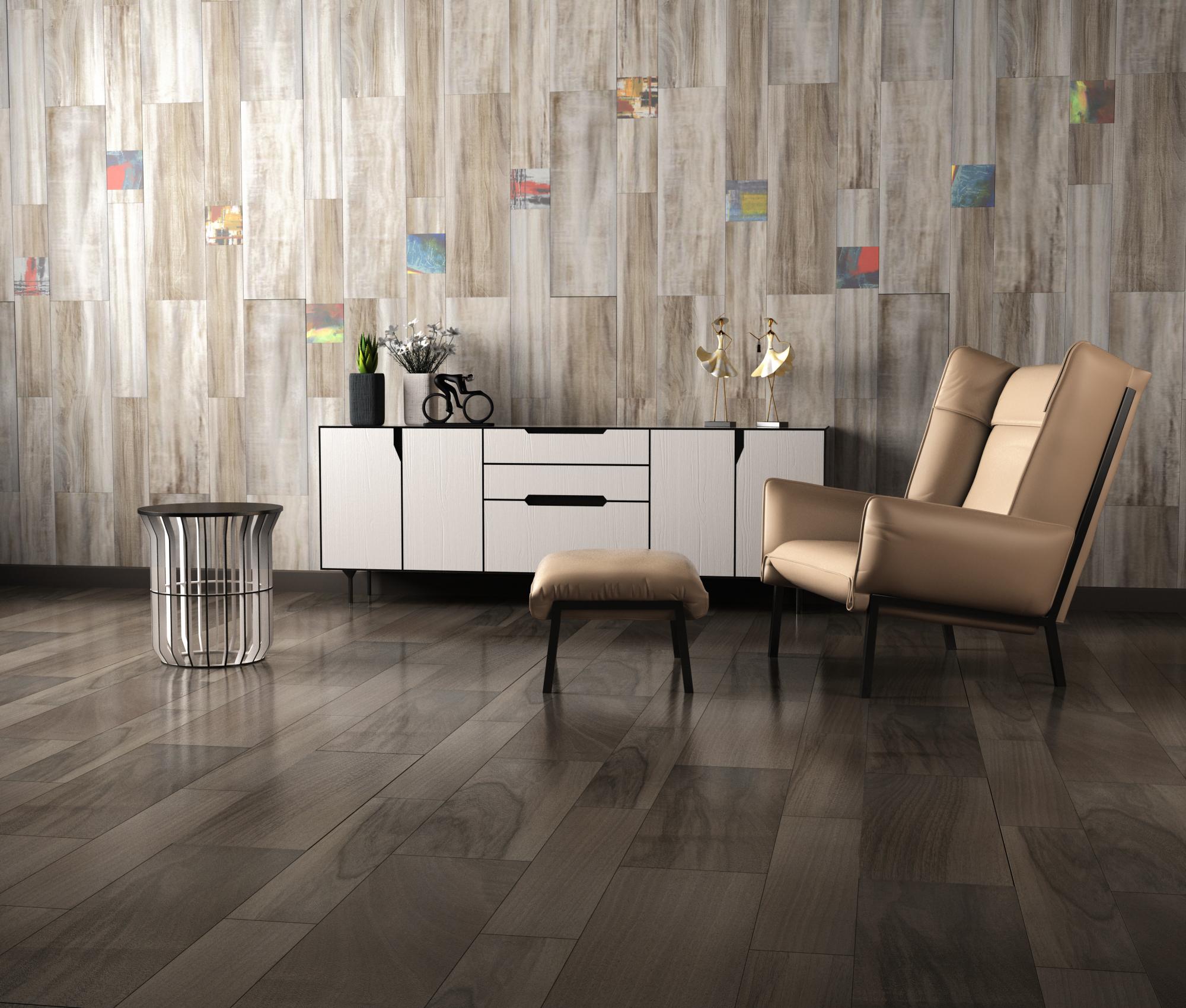 客厅地板砖用通体砖还是抛釉砖好