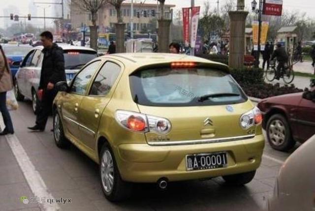 全国各省那些车挂00001车牌,北京首富炫酷