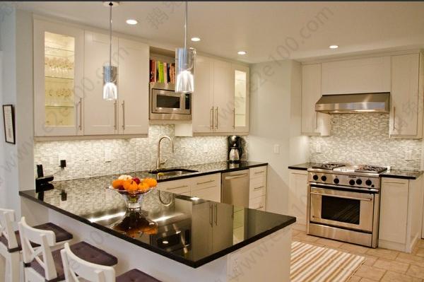 开放式厨房隔断如何设计 效果图案例赏析