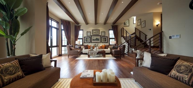 美式别墅,这就是品味,情调,风格图片